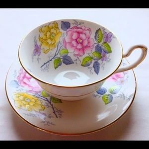 Other - Taylor & Kent bone China teacup and saucer